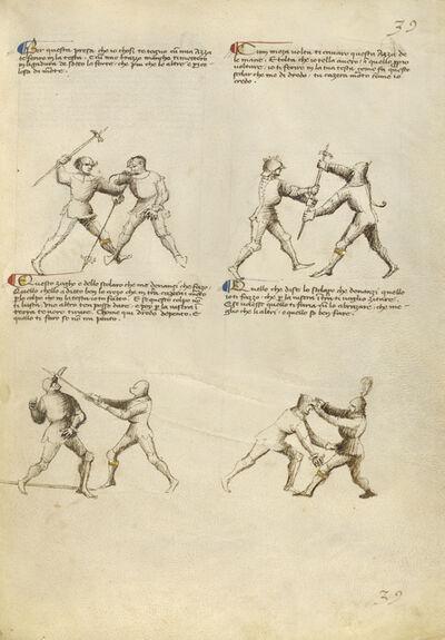 Fiore Furlan dei Liberi da Premariacco, 'Combat with Pollaxe', 1410