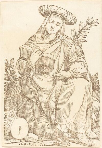 Jacques Stella, 'Sibylla Libyca', 1625