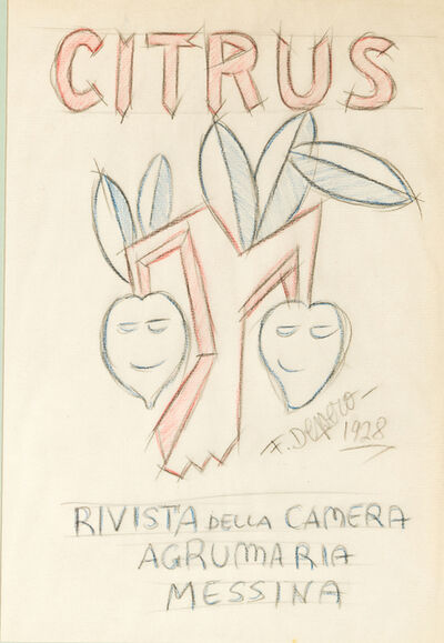 Fortunato Depero, 'Citrus', 1928