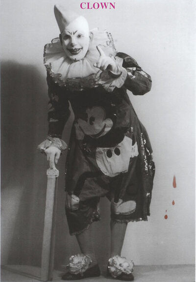 Peter Blake, 'C is for Clown', 1991