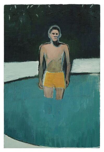 Jonathan Wateridge, 'Man in Pool', 2020