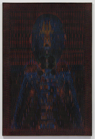 Lee Mullican, 'Guardian from the West ', 1978