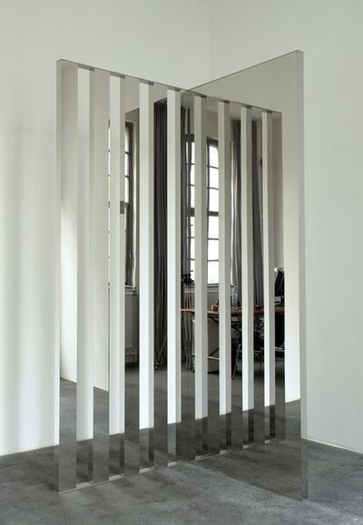 Jeppe Hein, 'Mirror Angle with Lamellae', 2006