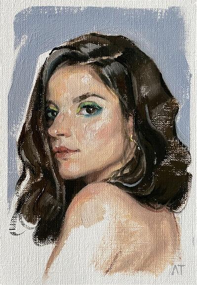 Alessandro Tomassetti, 'She (Postcard)', 2021
