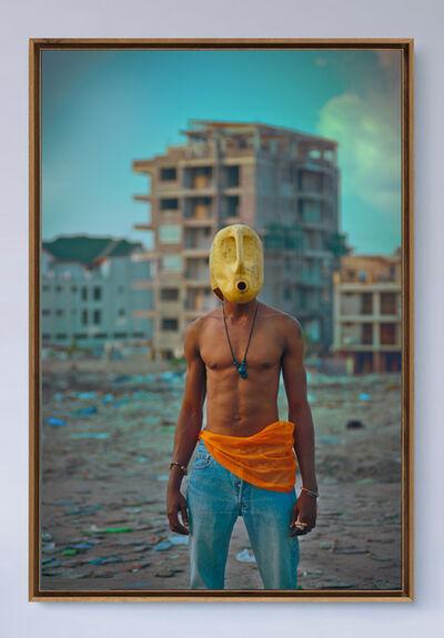 La furie Prisca M. Monnier, 'Zombie, L'homme au bidon jaune', 2020