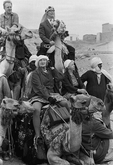 Thomas Hoepker, 'Norwegian Tourists, Cairo, Egypt', 1962