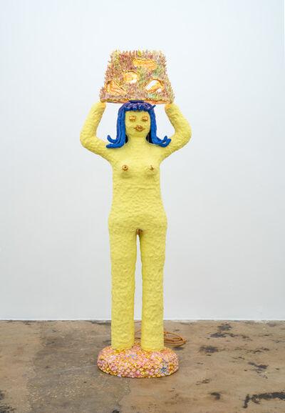 Katie Stout, 'Shady Lady (Yellow)', 2020