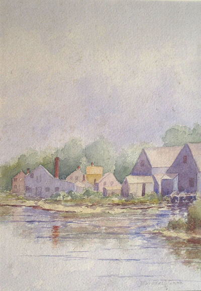 Marshall Jones, 'At the Water's Edge, Nantucket, MA'
