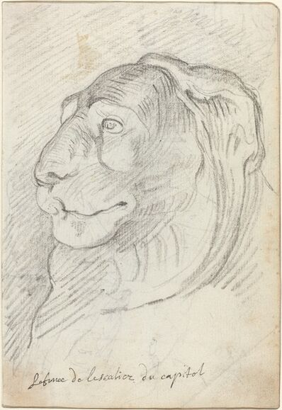 Augustin Pajou, 'Lion's Head from the Capitoline Staircase', 1752/1756