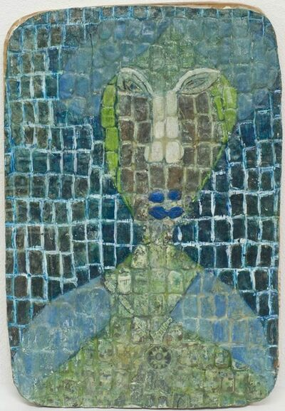 Anne Grgich, 'Blue Spinster', ca. 1988