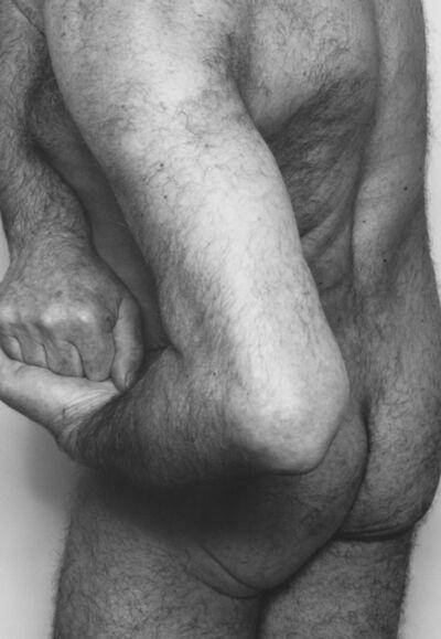 John Coplans, 'Self Portrait, Three Quarter Back, Hands Clasped', 1986