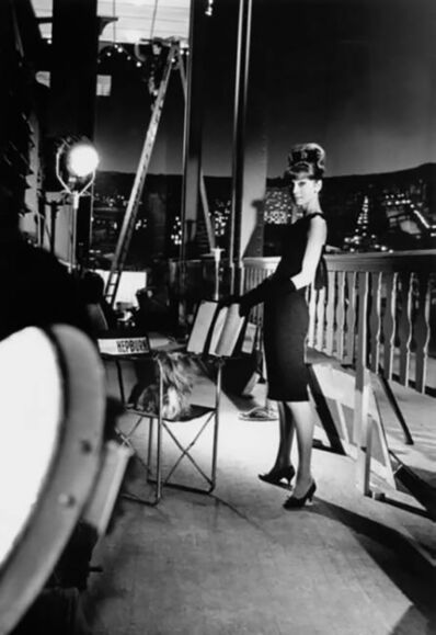 Bob Willoughby, 'Audrey Hepburn In her Sizzling Black Dress'