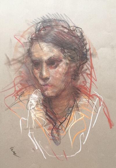 Ben Fenske, 'Female Portrait Sketch #2', 2009