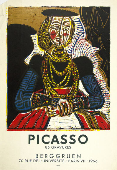 Pablo Picasso, 'After Cranach Poster for Exhibition at Berggruen, Paris', 1966