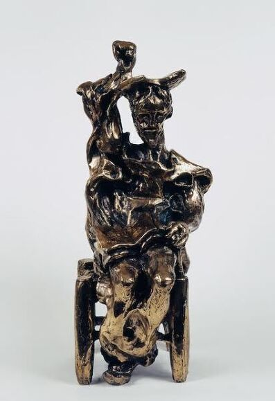 Salvador Dalí, 'Don Quixote Seated (Prestige-scale bronze)', ca. 1972