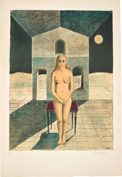Paul Delvaux, 'La Voyante (The Clairvoyant)', 1974