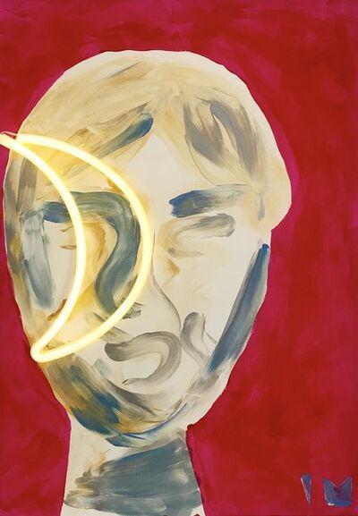 Ines Maria Krämer, 'Moon Portrait', 2018