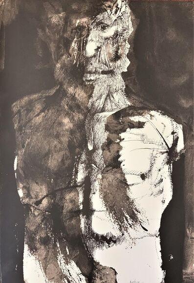 Leonard Baskin, 'Plate VI [Torso and Head] from Ars Anatomica', 1972