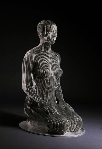 Julian Voss-Andreae, 'Kneeling Woman', 2019