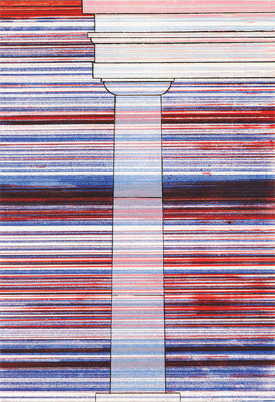 Ed Ruscha, 'Column With Speed Lines', 2003