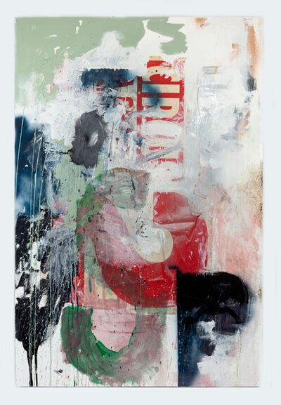 Stephen Lapthisophon, 'Torn Circus Poster (For Muhal Richard Abrams)', 2017