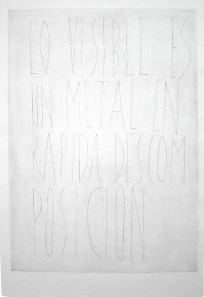 Eva Lootz, 'S/T', 1998
