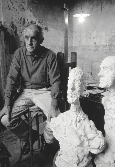 Sabine Weiss, 'Diego Giacometti in Alberto Giacometti's studio', 1966