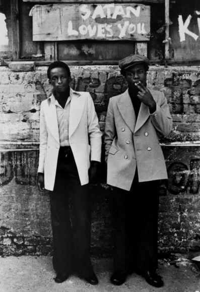 Colin Jones, 'The Black House, satan loves you graffiti, Holloway Road, London ', 1973-76