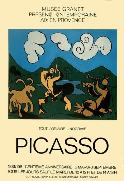 Pablo Picasso, 'PICASSO 1881 / 1981 CENTIEME ANNIVERSAIRE - MUSEE GRANET', 1981