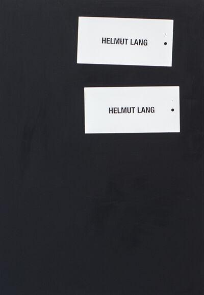 Johannes Wohnseifer, 'Ohne Titel (Helmut Lang) II', 2016