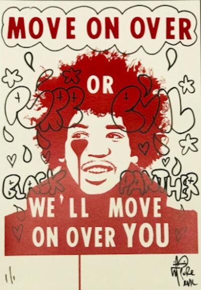 Pure Evil, 'Jimi Hendrix- Wakanda Forever', 2020