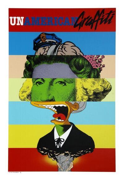D*Face, 'Unamerican Graffiti', 2009