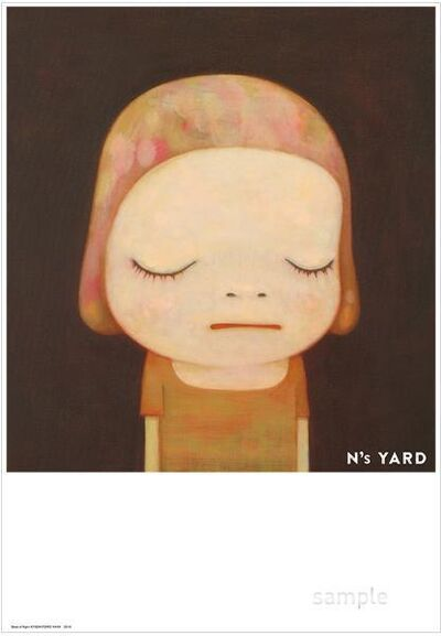 Yoshitomo Nara, 'N's YARD Poster - Dead of Night (B3 Size)', 2020