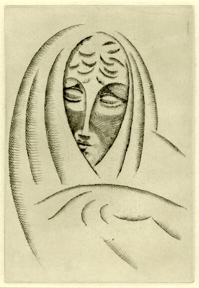 Elie Nadelman, 'Woman's Head', ca. 1920