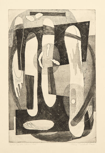 Alice Trumbull Mason, 'Orientation of Closed Forms', 1945
