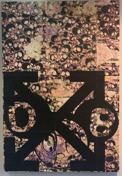 Takashi Murakami & Virgil Abloh, 'DOB and Arrows: Patchwork Skulls', 2018