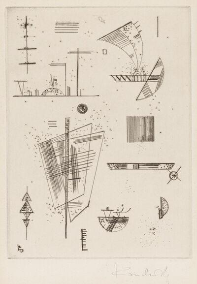 Wassily Kandinsky, 'ERSTE KALTNADEL FÜR DIE EDITIONS CAHIER'S D' ART', 1930