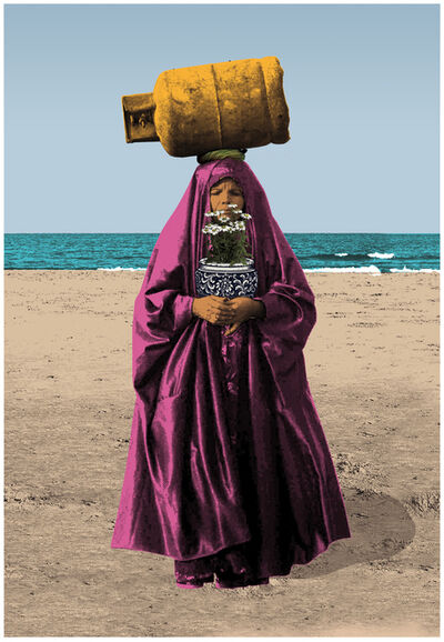 Amin Roshan, 'Woman with Cylinder', 2019