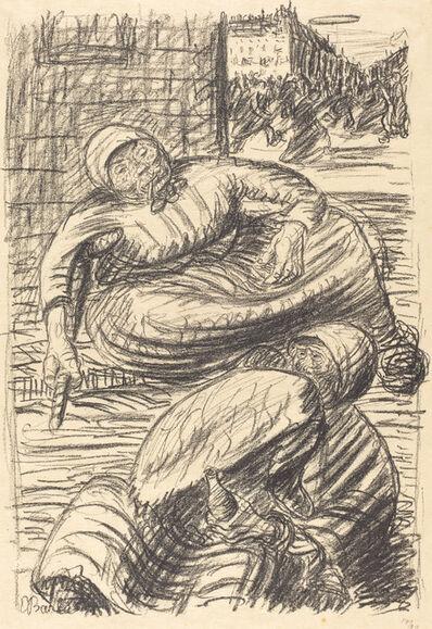 Ernst Barlach, 'Street in Warsaw', published 1915