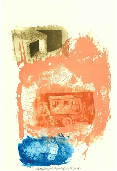 Robert Rauschenberg, 'Retreat (Ground Rules)', 1997