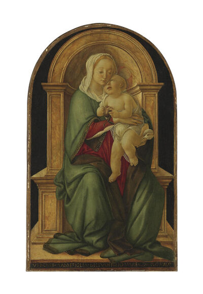 Sandro Botticelli, 'The Madonna and Child with a pomegranate'