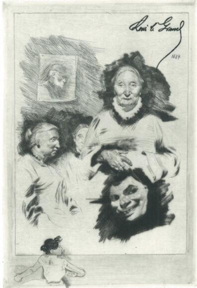 Louis Legrand, 'Épaves de famille', 1884