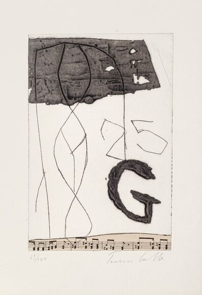 Tommaso Cascella, 'Musical Notes', 20th Century