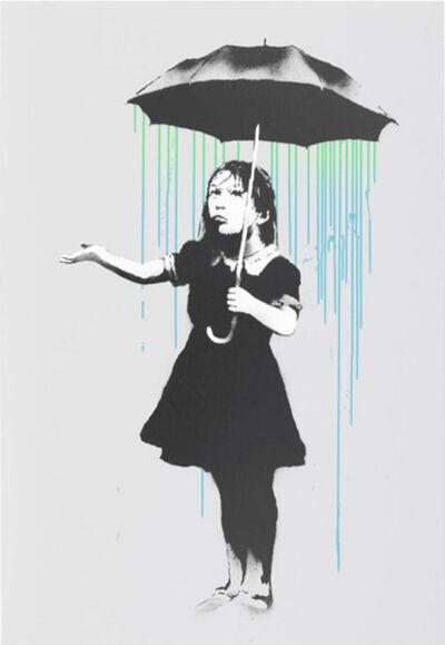 Banksy, 'Nola (Green/Blue Rain)', 2008