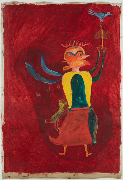 Ilija (Bosilj) Basicevic, 'Fairy Ravijojla & Bird', 1966