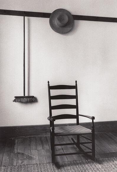 Alfred Eisenstaedt, 'Shaker Room, Hancock, MA', 1974/1980c