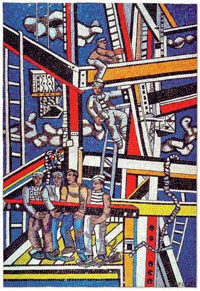 Fernand Léger, 'Les Constructeurs (état définitif)', 1950