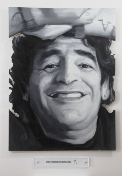 Yao Peng 姚朋, 'Nothing Better - Diego Armando Maradona', 2015