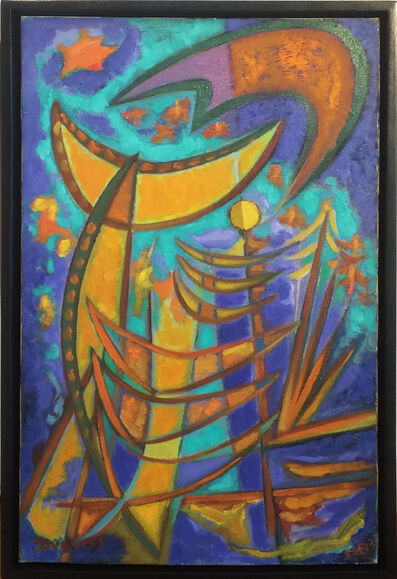 Werner Drewes, 'Sunken Gold', 1953
