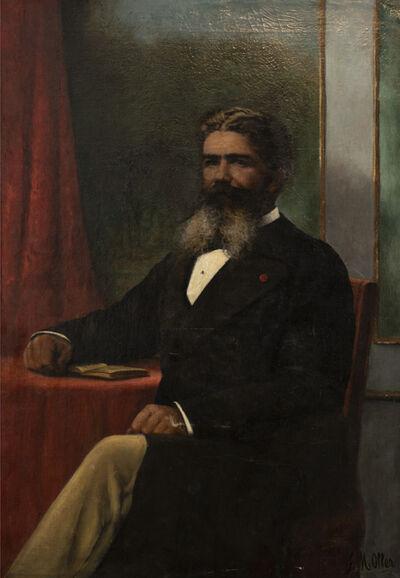 Francisco Manuel Oller Cestero, 'Portrait of Mr. Manuel Isidoro Saldaña Peña ', ca. 1880